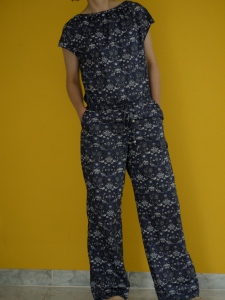 Liberty jumpsuit with side pockets